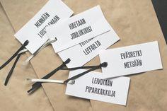 Activity cards for DIY Advent Calendar