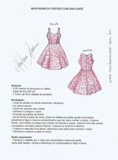 Vestido con falda de Gode 2 Vestidos Pin Up, Diy Sewing Projects, Moda Fitness, Models, Rock, Sewing Clothes, Sewing Patterns, Blog, Fashion Ideas