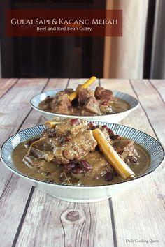 Gulai Sapi dan Kacang Merah – Beef and Red Bean Curry