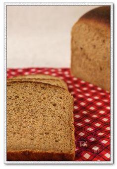 Sourdough 100% Whole Wheat Oatmeal Sandwich Bread