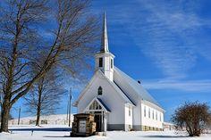 Johnson Chapel,  Confluence, Pennsylvania