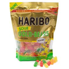 Just found Haribo Gold-Bears Sour Gummi Bears Candy: Bag Thanks for the Haribo Candy, Haribo Gummy Bears, Sour Gummy Bears, Haribo Gold Bears, Sour Gummy Worms, Gummy Bear Candy, Bulk Candy, Candy Store, Sour Orange