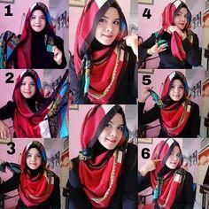 Simple loose hijab
