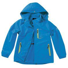 Windproof Waterproof Zip Up Jackets Outdoor Camping Travel Hoodie Rain Coat BLUE #hellobincom #WaterproofWindproof