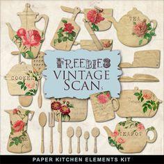 Far Far Hill: Freebies Vintage Papers Kit