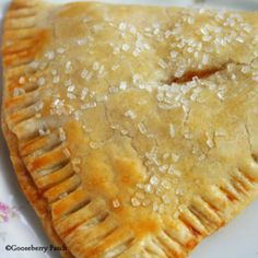 Just Peachy Hand Pies | Recipe from Gooseberry Patch | Summertime Recipe Round Up