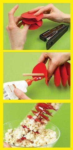 Baut euch eine Popcorn-Flaschenbox!
