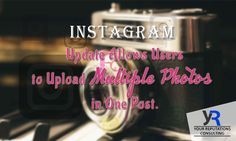 #Instagram new update is the game-changer Now you can share up to 10 #photos or #videos in one Instagram post. Isn't amazing? First Instagram Post, Instagram Posts, Game Changer, News Update, Photo S, Videos, Amazing