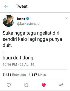 #wattpad #acak Bacotan Idol Di twitter pada rame bacot 🍑 EXO 🍑 BTS 🍑 NCT 🍑 GOT7 🍑 IKON Text Quotes, Jokes Quotes, Funny Quotes, Funny Memes, Smile Quotes, Mood Quotes, Funny Tweets Twitter, Quotes Lucu, All Jokes