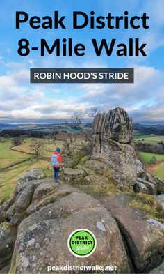 A wonderful walk in the Derbyshire Peak District - Robin Hood's Stride Walk + Bradford Dale From Elton Hiking Routes, Hiking Trails, Hiking Europe, Peak District England, Travel Guides, Travel Tips, Travel Uk, Travel England, Travelling Tips