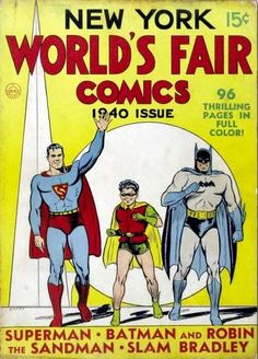 Superman, Batman and Robin come to the NYWF