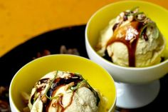 """""""It's not meant to be super         sweet,"""" Reusing says of this delicious, silken         ice cream. """"It's a fun way to taste corn.""""         And using coconut milk in the base means         there's no need to make a custard."""