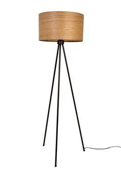 Dutchbone+Woodland+Gulvlampe+-+Smuk+Woodland+gulvlampe+fra+Dutchbone+i+askefinér.