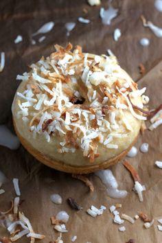 Glazed Coconut Donuts