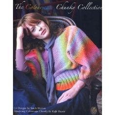 The Colourscape Chunky Collection: 14 Designs to Knit (Paperback) #knits