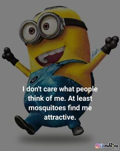 Funny Qoutes, Funny Animal Memes, Cute Quotes, Funny Animals, Funny Memes, Minion Rock, Minion Meme, Minions Quotes, Haha Funny