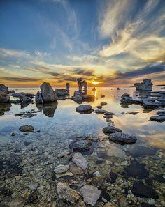 A typical Stonestack field on Gotland / Sweden