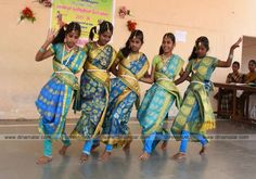 Pollachi Mariammal Girls Higher Secondary School,  In the art, literary competition, the fairy dancers are students. Picture: R.Raghavendran.