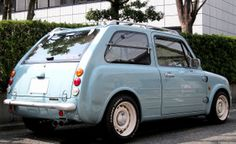Nissan PAO Lower down a bit, change tires & wheels, I just replaced the muffler.