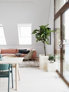 laid back living I muted colours