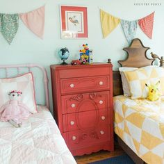 Decorating on a budget is easy with this milk paint upcycling project. Check out the before and after furniture flip idea for this old tall dresser for your bedroom. Diy Dresser Makeover, Furniture Makeover, Cube Storage Shelves, Furniture Wax, Furniture Ideas, Painting Furniture, Dresser As Nightstand, Tall Dresser, Vintage Dressers