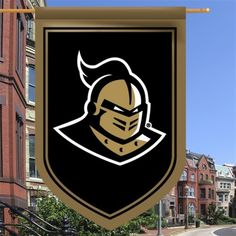 UCF Knights 26'' x 39'' Double-Sided Shield Flag