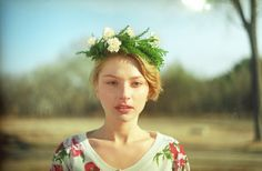 #flowers #girl #fashion