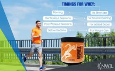 Identify the right time for #wheyprotein #supplement consumption, based on your requirements. #Whey #ProteinPowder - http://goo.gl/SIfZ3S