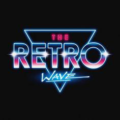 vaporwave logo synthwave aesthetic at DuckDuckGo 80s Logo, Neon Logo, New Retro Wave, Retro Waves, Design Retro, Logo Design, Typography Art, Lettering, Serpieri