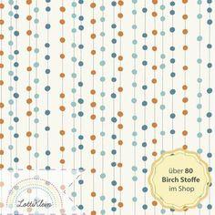 Birch Fabrics Jersey Stoff Bobbers Orange von LottiKlein auf DaWanda.com