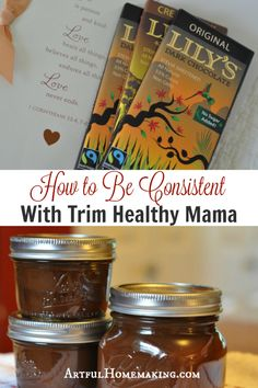Now that the holidays are over, I'm ready to be more consistent with Trim Healthy Mama! Here are some tips for staying on plan.