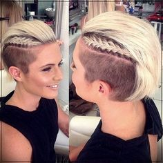Hairstyles for Short Hair 2019 Trends and Pretty Ideas  #2019shorthairstylestrends #shorthaircut2019 #shorthairstyles2019
