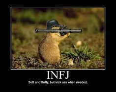 How INFJs Deal With Conflict - it's insane how accurate this stuff is...