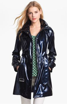 Ellen Tracy Pearlized Trench Coat available at #Nordstrom