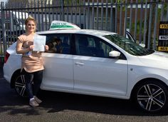 Caitlin Maggs passed FIRST TIME with our female instructor, Lianne. Lianne took Caitlin to test in her sporty looking learner car in the Bristol Brislington driving test centre. Caitlin did really well and is now a holder of a full UK driving licence thanks to Lianne and Belt Up School of Motoring Ltd.