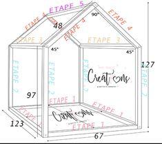 Mon DIY Le fameux lit cabane Montessori facile et rapide un tuto simple et detaillé pour un prix tres leger comme on aime