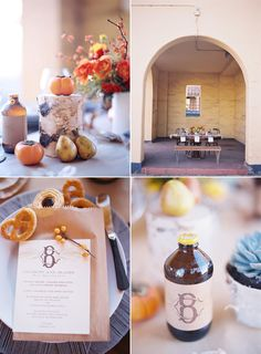beautiful fall table ideas from Snippet & Ink