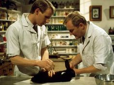 all creatures great and small stills | ... Davison and Robert Hardy in 'All Creatures Great and Small', 1977