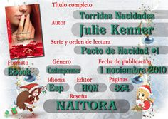 Locas del romance: TORRIDAS NAVIDADES (PACTO DE NAVIDAD 1/2 JULIE KEN...