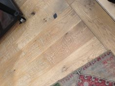 Close up of Oak flooring at Nordstrom- perfectly distressed and love the color and finish.