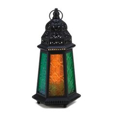 BRAND NEW! Festive Flair DESERT CARNIVAL CANDLE LANTERN Middle Eastern