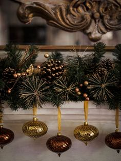Mantel Decoration.
