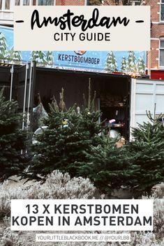 Je kunt weer kerstbomen op straat kopen bij de vaste verkooppunten in Amsterdam. Anders dan anders dit jaar is dat de kans groot is dat jouw favoriete lokale restaurant of café ook kerstbomen verkoopt dit jaar. Mooie kans om ze weer extra te supporten! Amsterdam Travel Guide, Little Black Books, The Good Place, Christmas Tree, Restaurant, Groot, Holiday Decor, Teal Christmas Tree, Diner Restaurant