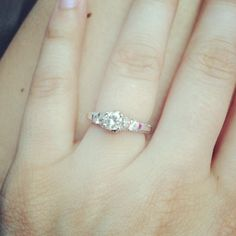 My official engagement ring