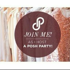 Co-hosting A Posh Party!!! Join me as I co-host my second posh party Wednesday June 1 at 7pm PT  Please help me spread the word!!  **Stay tuned for party theme!** thattopsit Accessories