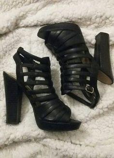 #vintedpl http://www.vinted.pl/damskie-obuwie/na-wysokim-obcasie/16577795-sandaly-open-toe-lace-up-rzymianki-38-new-look-slupek-czarne-obcas