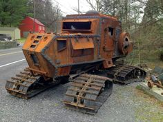 Car? Tank? Zombie hunting mobile?