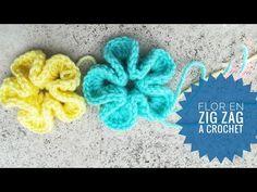Flores a crochet muy fácil 3D - YouTube