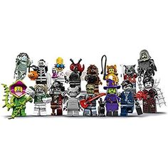 LEGO Monsters Series 14 Minifigures - Complete Set of 16 Minifigures (71010) Halloween -- Visit the image link more details. (This is an affiliate link and I receive a commission for the sales) #BuildingToys