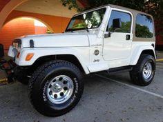 2001 Jeep Wrangler, 103,018 miles, $13,950.
